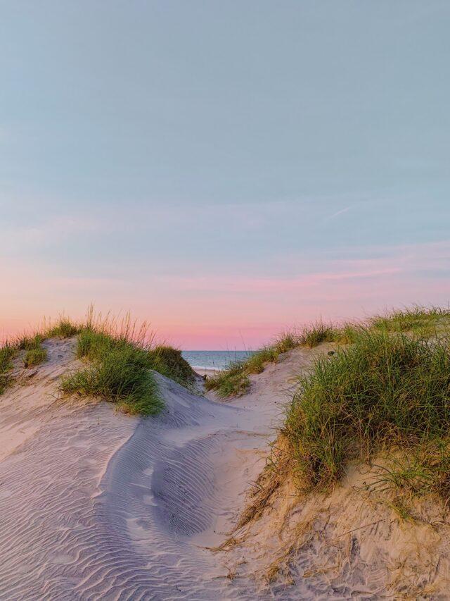 beach, dunes - secluded beaches on east coast