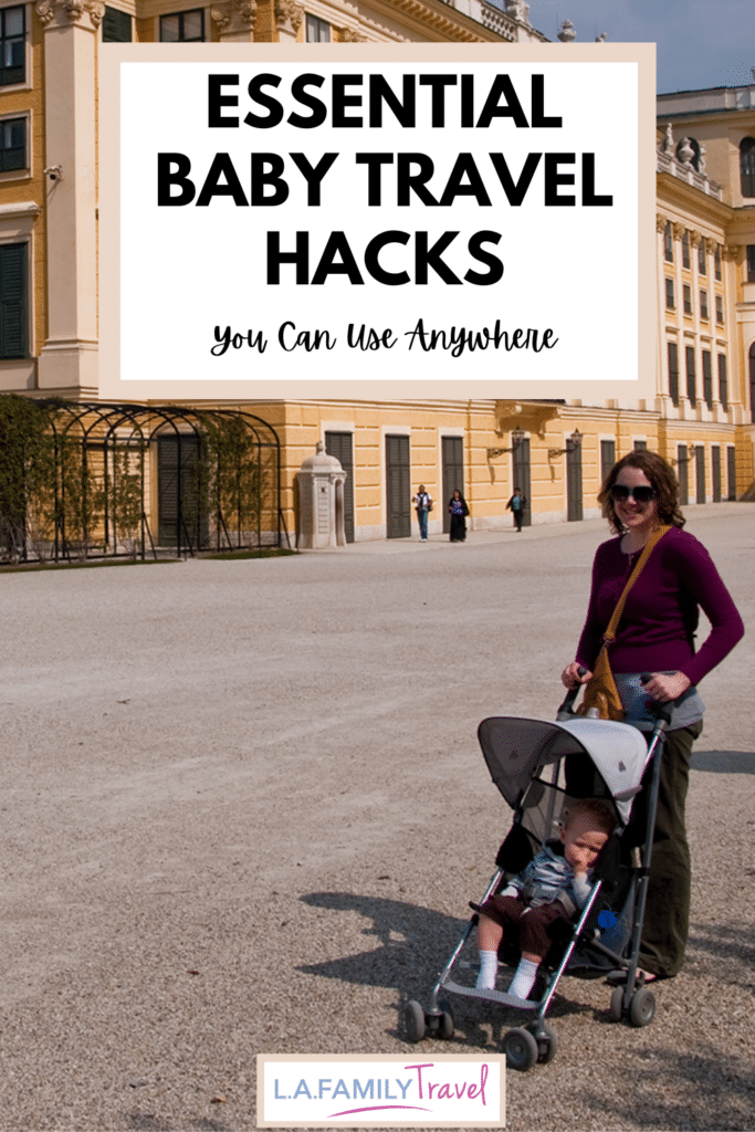 best baby travel hacks - tips to traveling with baby on packing, keeping baby calm and what to do!
