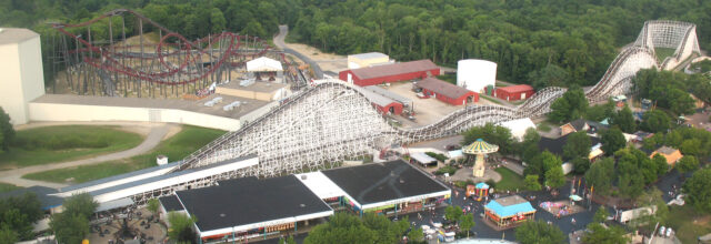 racer, kings island - how to plan a weekend trip and ride 42 roller coasters or more on your family trip!