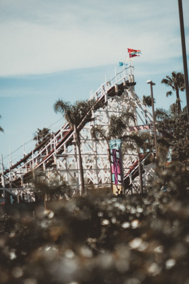 rollercoaster at belmont park