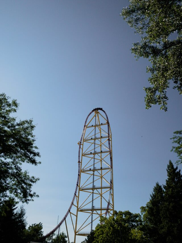 top thrill dragster - how to plan a weekend trip and ride 42 roller coasters or more on your family trip!