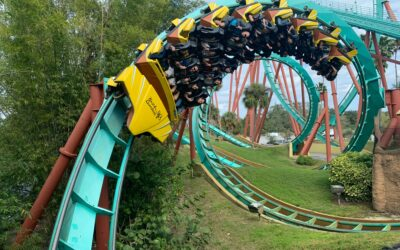 How to Hit 42 Roller Coasters in One Weekend!