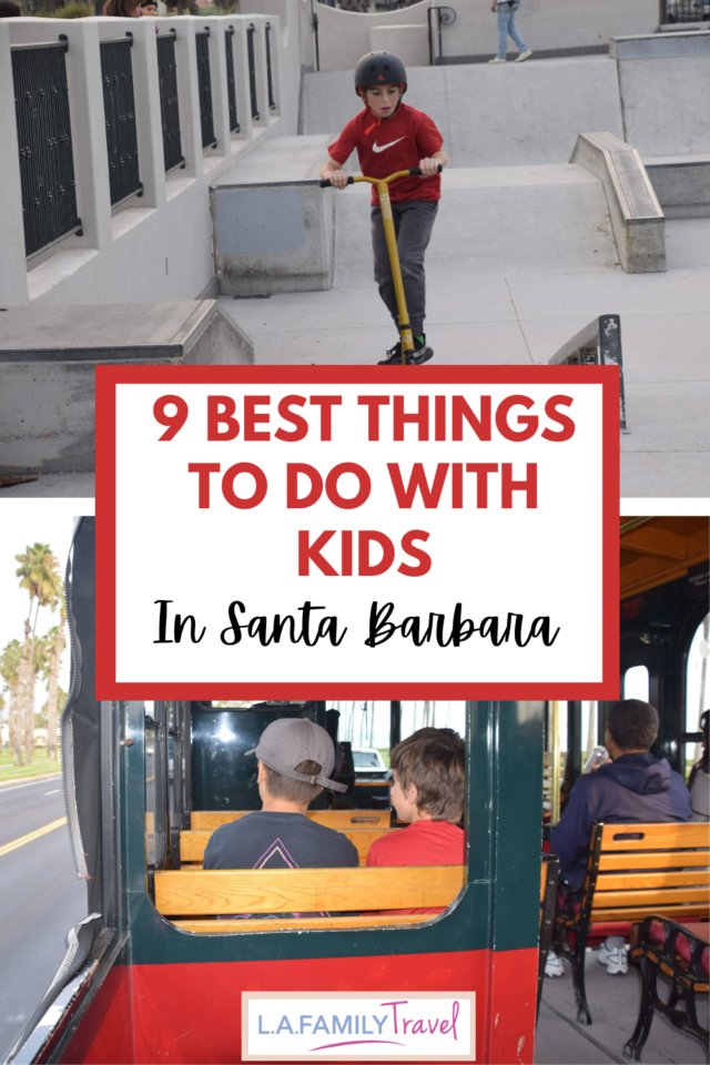 The beautiful coastal city of Santa Barbara has lots of fun adult activities but there is a lot of fun to be had in Santa Barbara with kids!