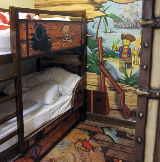 bunk beds - Legoland was geared to my 5 & 3-year-olds. Here's why Legoland CA is perfect for toddlers & young kids