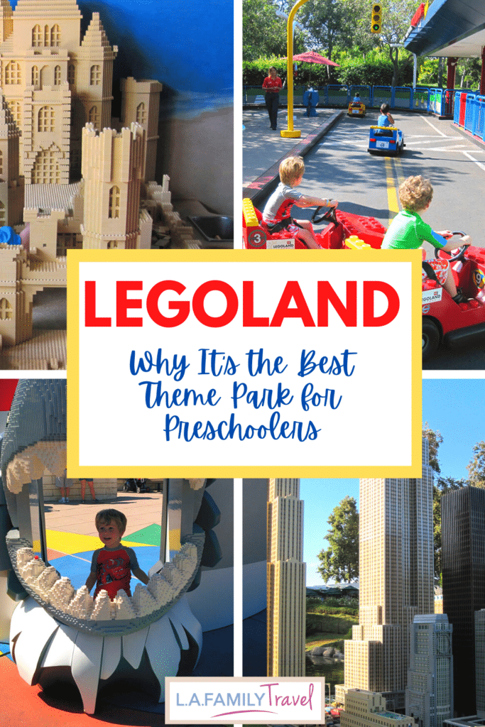 Pinterest image for Why Legoland Is the Best Theme Park for Preschoolers