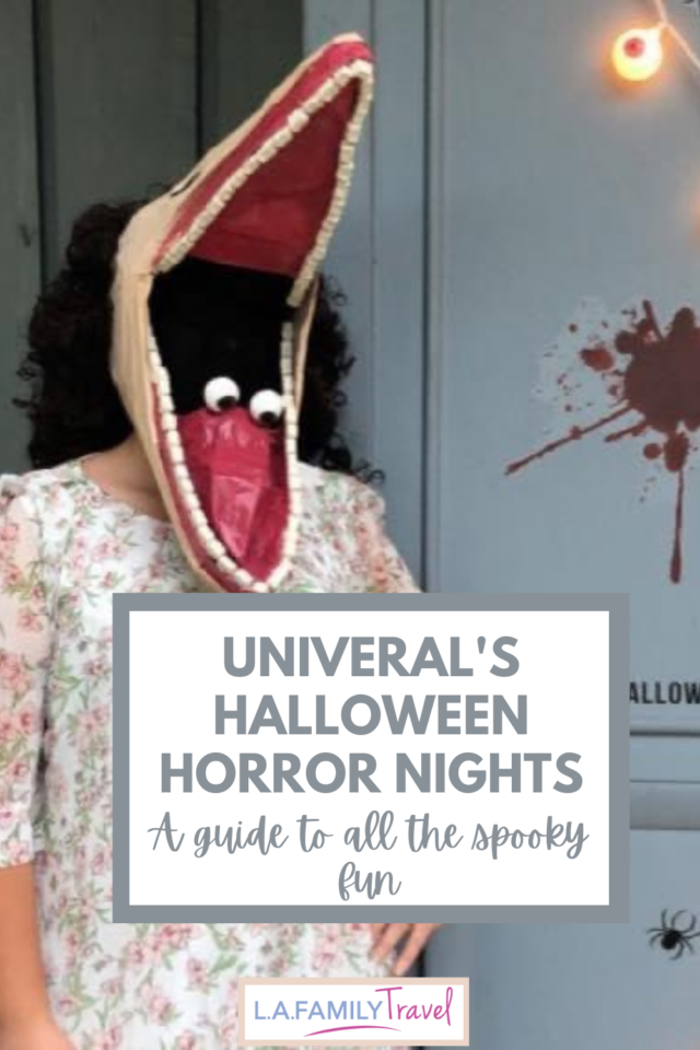 Whether you're a horror fan or a wimp like me, there's tons of fun things to do at Universal's Halloween Horror Nights