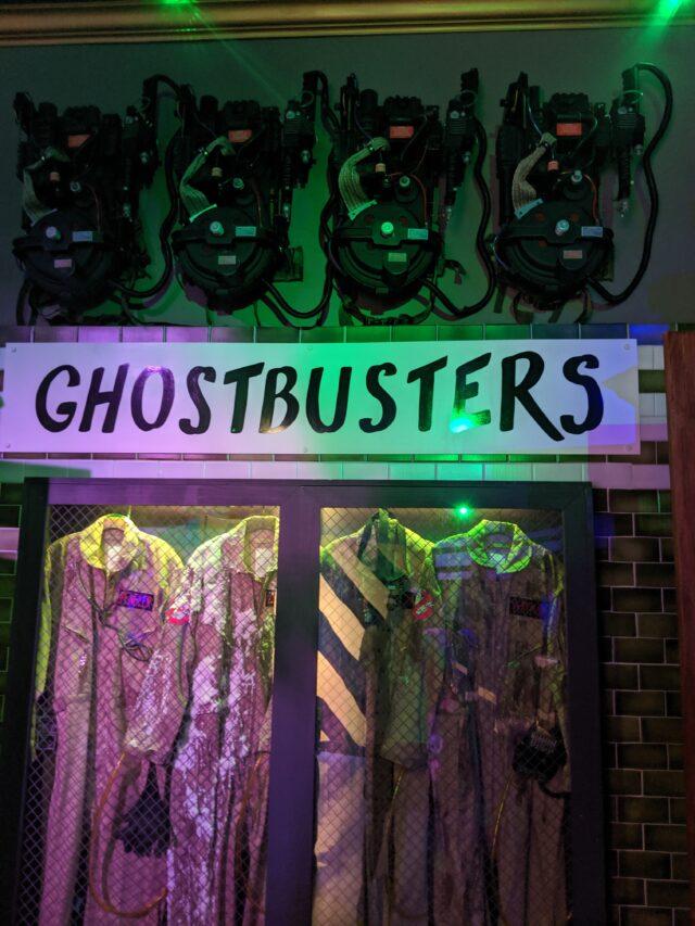 GHOSTBUSTERS HOUSE...halloween horror nights 2021