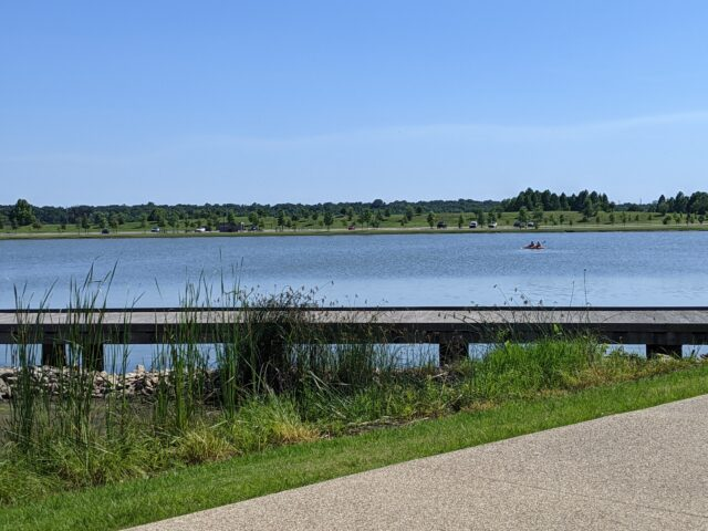 Shelby Farms Park is one of the best things to do in Memphis with kids and one of the best places to go.