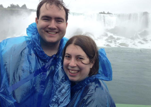 two people with panchos to protect them from the water falls - ROCHESTER New York is full of fun things to do for kids of all ages. Here are the best ones like Niagra Falls, Genesse Country Village and the Seneca Park zoo.