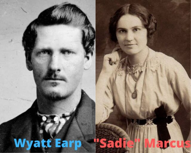 Wyatt Earp and Sadie Marcus Earp