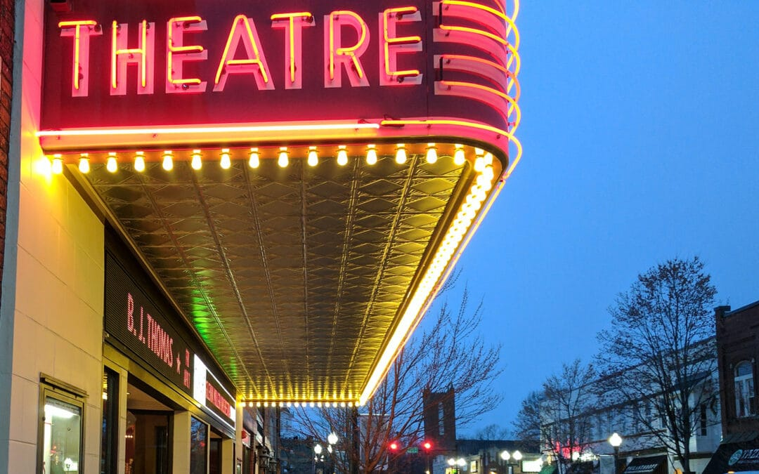 The Franklin Theatre in Franklin. Tennessee. Best family activities in Franklin, TN.