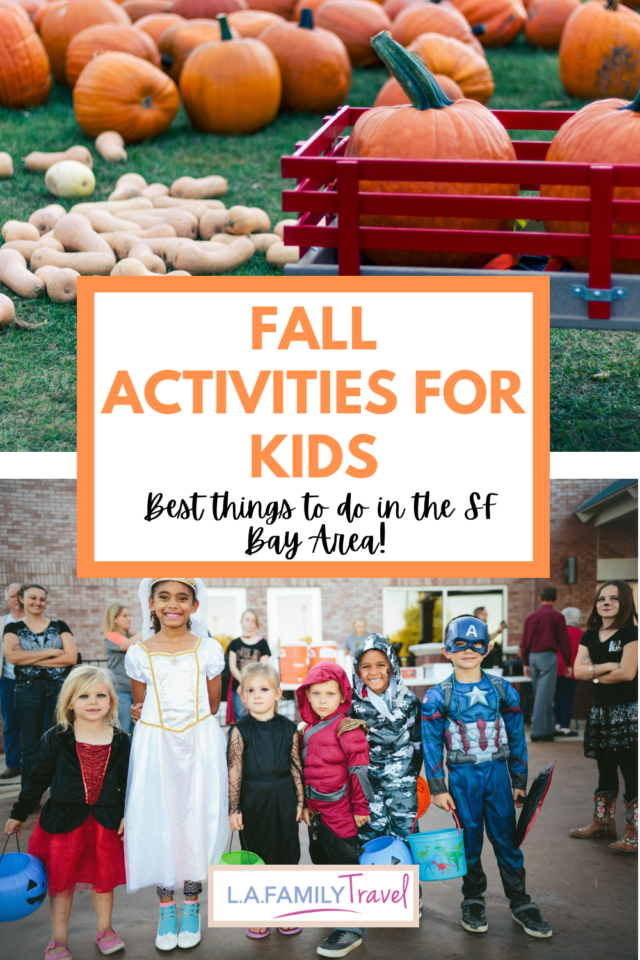 Fall in the San Francisco Bay Area: Best Things to Do with Kids family travel halloween